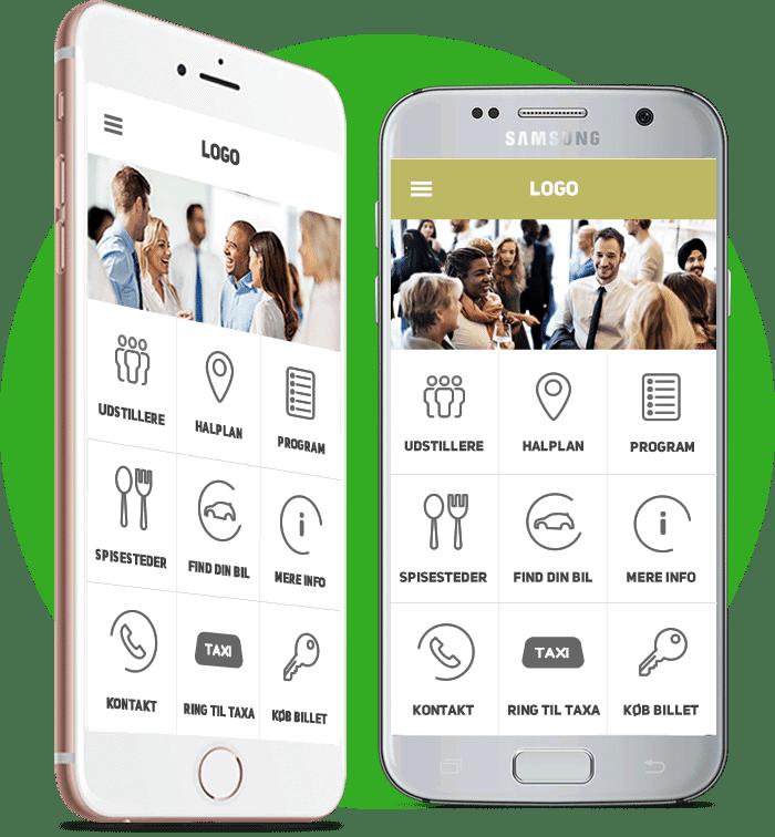 Virker på Android og iOS